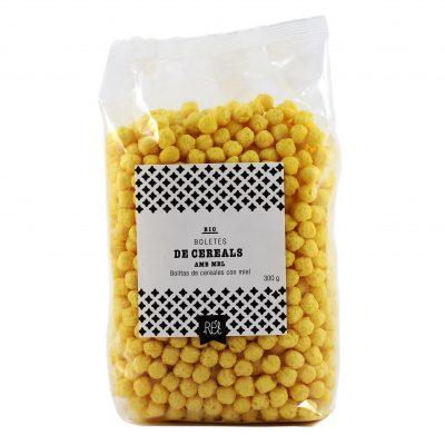 Boletes de Cereals amb Mel