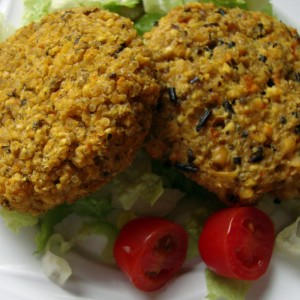 Burguers de quinoa