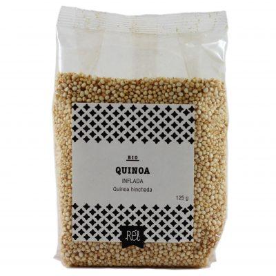 Quinoa inflada